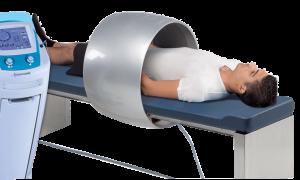 מיטת טיפול בפולסים חשמליים להפחתת כאב